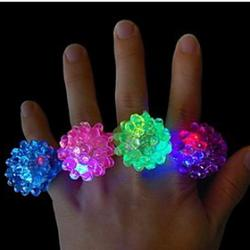 Cheap Multi-color LED Flashing Ring (Random Color)