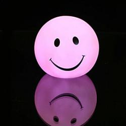 Cheap Smile Rotocast Color-changing Night Light