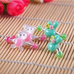 Cheap Girl's Rabbit Hair Clips