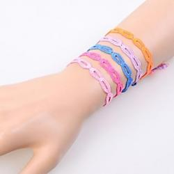 Low Price on European Fashion Sweet Lace Infinity  Friendship Bracelets(1PC)(Assorted Colors)
