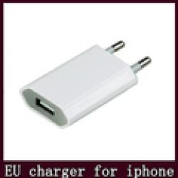 AC Power USB Wall Charger cable adapter For apple iPhone 5 5s 4 4S 3GS iPod EU Plug free shipping Sale