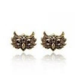 Cheap Fahion vintage Owl Earrings !Free shipping! cRYSTAL sHOP