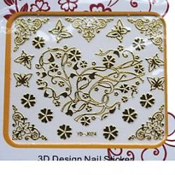 Cheap Miss You Style 3D Metal Nails Art Stickers Tattoo For Lover GF  DIY