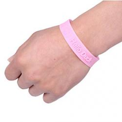 Cheap Adjustable Mosquito Repellent Bracelet Vervel Random Color Delivery