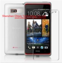 Cheap 2 x High Quality Clear Glossy Screen Protector Film Guard Cover For HTC Desire 600 Dual Sim Desire 606W 608T 609D