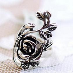 Cheap Lucky Doll Women's Vintage Rose Ring