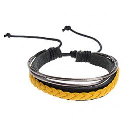 Cheap Three Color Rope Combination Bracelet