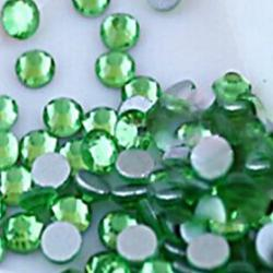 Cheap 2.72.9mm Boutique(Apple Green)Flat Back Rhinestones(Phone Beauty)Nail bedazzle 100 pieces