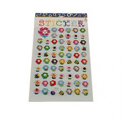 Low Price on Cartoon Sunflower Series Stereo Bubble Sticker
