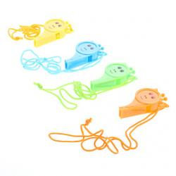Cheap Smiling Whistle for Kids (Random Color)