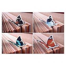 Cheap Cute Butterfly 1940.5 Paper Bookmarks  Clips(Multicolor,1pc)