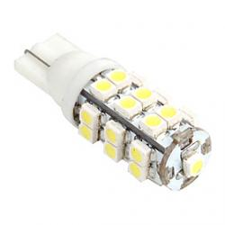 Cheap T10 1W 25xSMD LED 40LM 5500K White Light LED (12V)