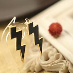 Low Price on Wind Lightning Multicolor Drip Candy Earrings Earrings E418