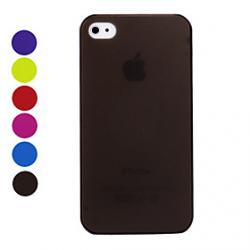 Cheap Matte Surface Ultrathin Protective Case for iPhone 4 / 4S