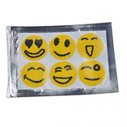 Cheap Smiley Face Mosquito Repellent Stickers
