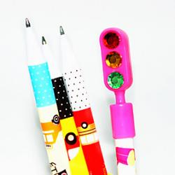 Traffic Light Rhinestone Ballpoint Pen Sale