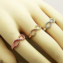 Cheap Top quality Special Infinity finger ring wholesale nice gift Min order is 10 (mix different goods) R674