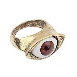 Cheap Eclectic Ultra- Fine Mysterious Eye Eyeball Shape Ring