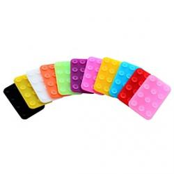 Low Price on Plastic Mini Non-slip Mat for Apple iPhone6/Sumsung/Others (Assorted Colors)