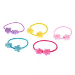 Cheap (5 pcs)Fashion Multicolor Hair Ties For Kids