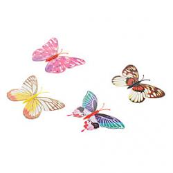 Cheap Fluorescent Butterfly Shaped Fridge Magnet (Random Color)