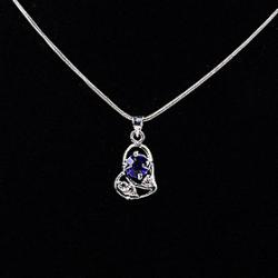 Cheap Dark Blue Rhinestone Heart Ocean Star Pendant(Pendant Only)