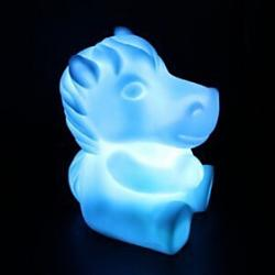 Cheap Horse Rotocast Color-changing Night Light