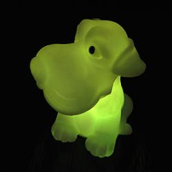 Cheap Animal Rotocast Color-changing Night Light