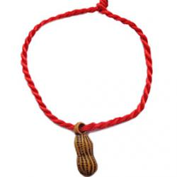 Cheap Chinese Red Classic Red Rope Bracelet Peanut Pendants Early Birth