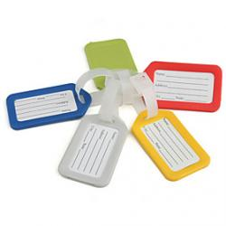 Cheap Travel Luggage Tag (Assorted Colors)