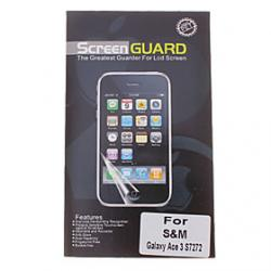 Cheap Professional Clear Anti-Glare LCD Screen Guard Protector for Samsung Galaxy Ace 3 S7272