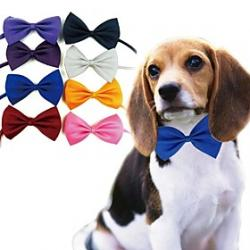 Cheap Elegant Dog Neck Tie Bowknot for Pets Dogs