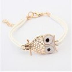 Cheap Korean fine hollow retro owl Bracelet+FREE SHIPPING#99043#D70