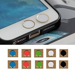 Cheap Toophone JOYLAND 3.5mm Color Circular Button Sticker for iPhone and Samsung (Random Color)