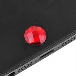 Cheap Gem Surface Home Button Sticker(Random Color)