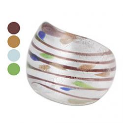 Low Price on Chromatic Stripe Colored Glaze Ring