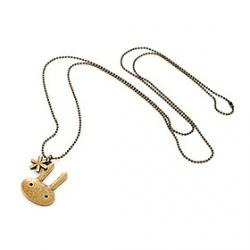Low Price on Korean version of the retro long section of snow bunny sweater chain necklace N42
