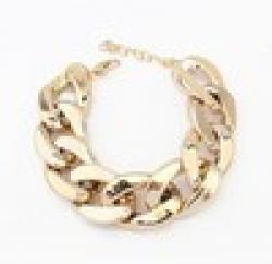 Cheap B17 all-match coarse chain gold bracelet silver bangle bracelets & bangles women bracelet free shipping