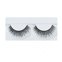 Cheap 1 Pair Black Handmade lengthening Fiber False Eyelashes