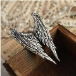 Low Price on Fashion Hot Sale New Arrival RETRO PLATED ANGEL WING ADJUSTABLE RING R35