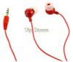 Cheap 2014 New Red 3.5mm In-Ear Earbud Earphone Headphone for PC Laptop MP3 MP4 b7 10756