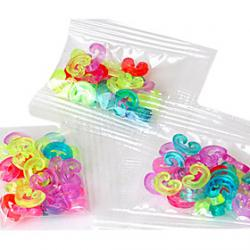 Cheap Tools or Charms for Rainbow Loom C-Clips Hot DIY Rubber Band Hook Connector(24 Pcs)