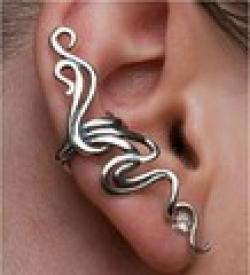 Cheap Min Order $10(Mix Order) Free Shipping,C015 ,New Punk Style Twining Branch Earring Clip Ear Cuff,Jewelry Wholesale