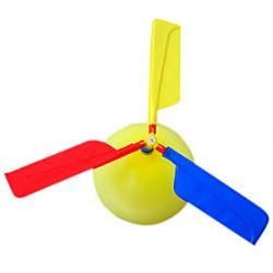 Cheap Helicopter Air Balloon Assembly Toy(Random Color)