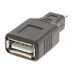 Cheap Micro USB to USB/A M/F Adapter