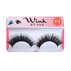 Cheap Longer Version of Runway Style Eyelashes F-5 - 1 Pair Per Box