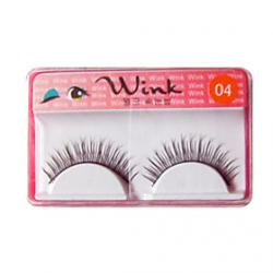 Cheap Natural Looking Eyelashes #04# - 1 Pair Per Box