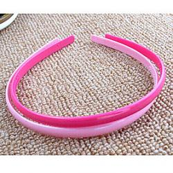 Cheap Simple Models Wild Sweet Candy-Colored Simple Hoop Headband Random Color
