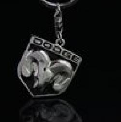 Cheap Wholesale Dodge keychain , dodge auto supplies dodge emblem , dodge 4s promotional KC13-DODNB30