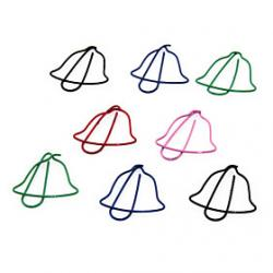 Low Price on Bell Shape Metal Paper Clips (10PCS Random Color)